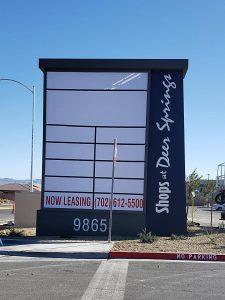 Shops at Deer Springs 20ft Monument Sign