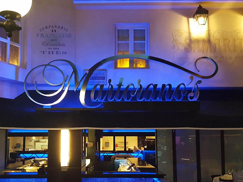 Martorano's Channel Letters