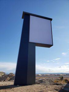 40ft Pylon Sign