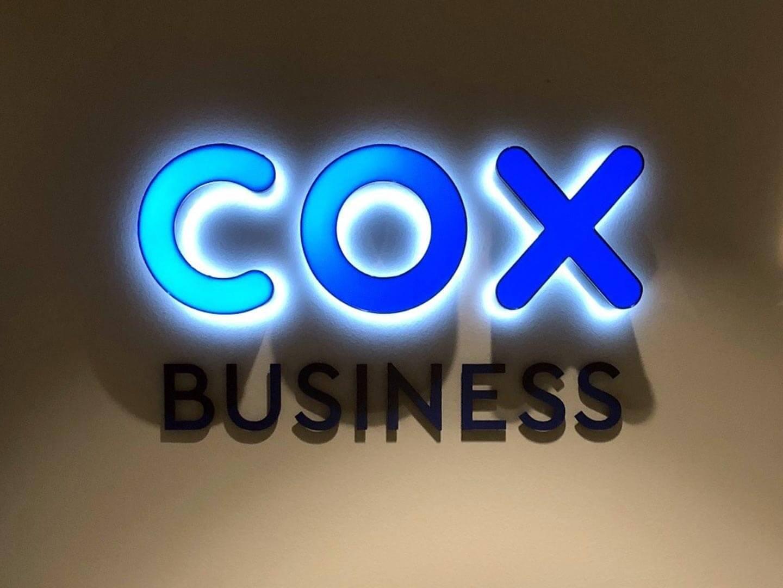 COX Dual Lit Letters
