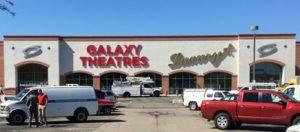 Galaxy Theatres Exterior Exterior Sign, Tuscon Arizona