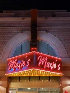 Maxies Neon Exterior Neon Sign