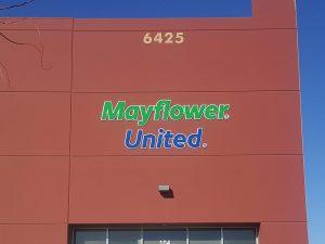 Mayflower United Signage